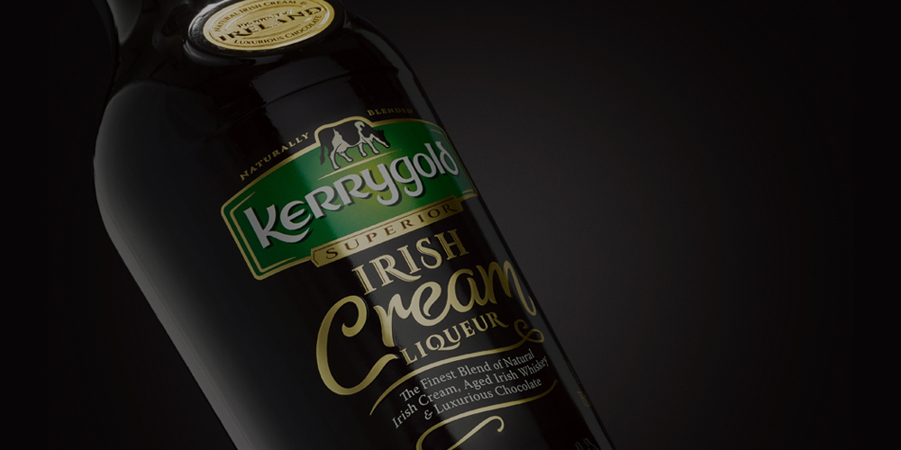KERRYGOLD IRISH CREAM LIQUEUR -