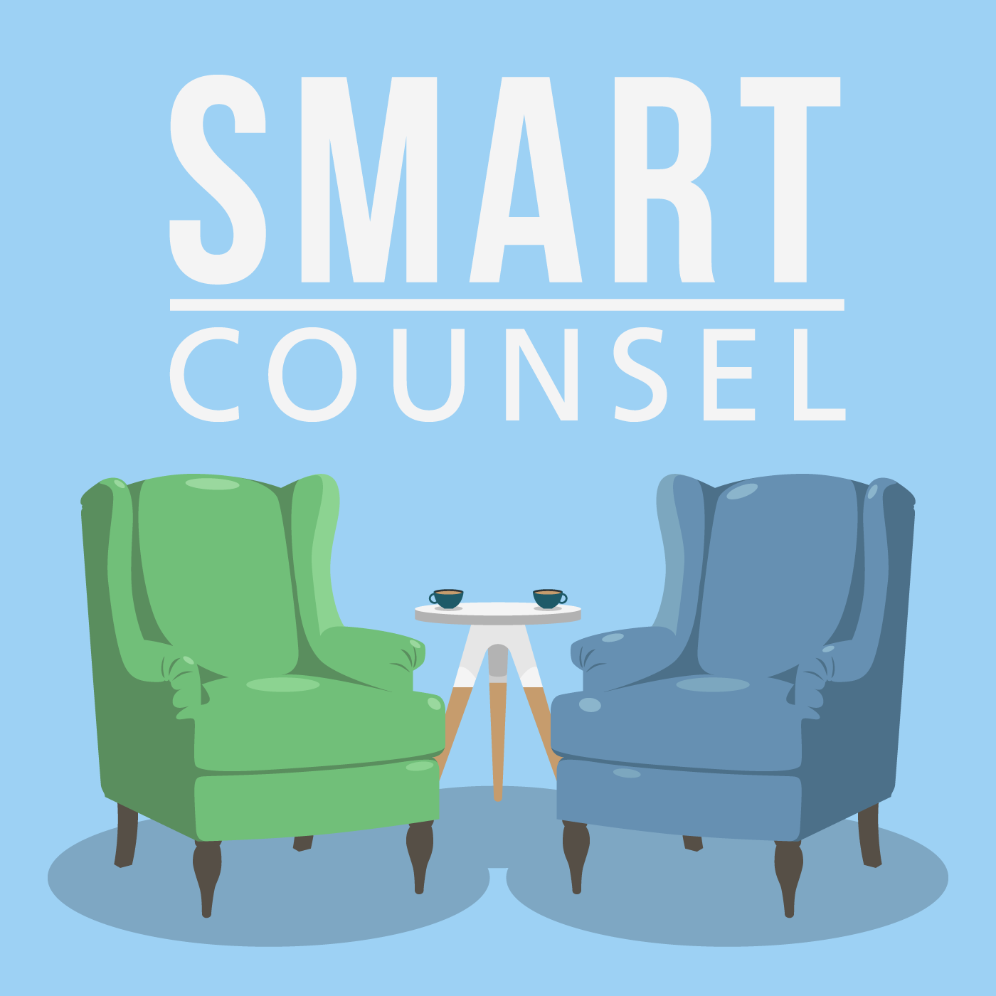 Graphic used for podcast series for counseling professionals.