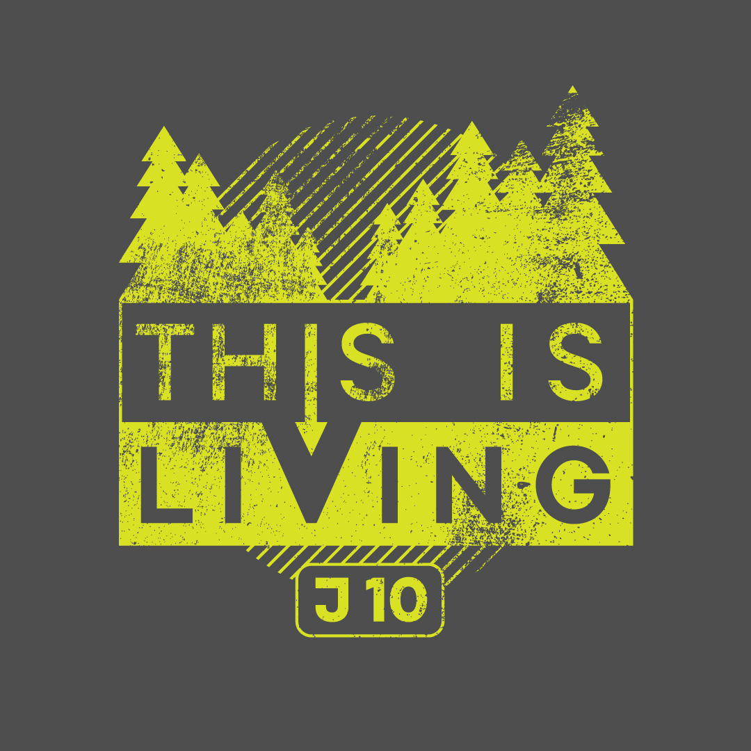 This is Living T-shirt graphic