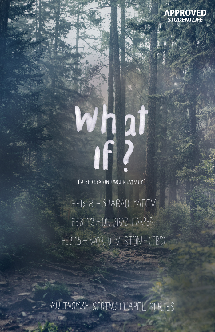 """""""What If?"""" poster"""