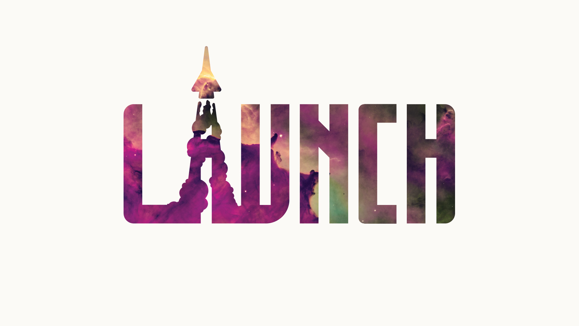 """Logo for """"Launch"""" event"""