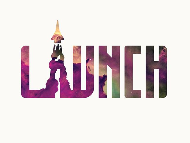 Start off something great. #illustration #launch #typography #logodesigns