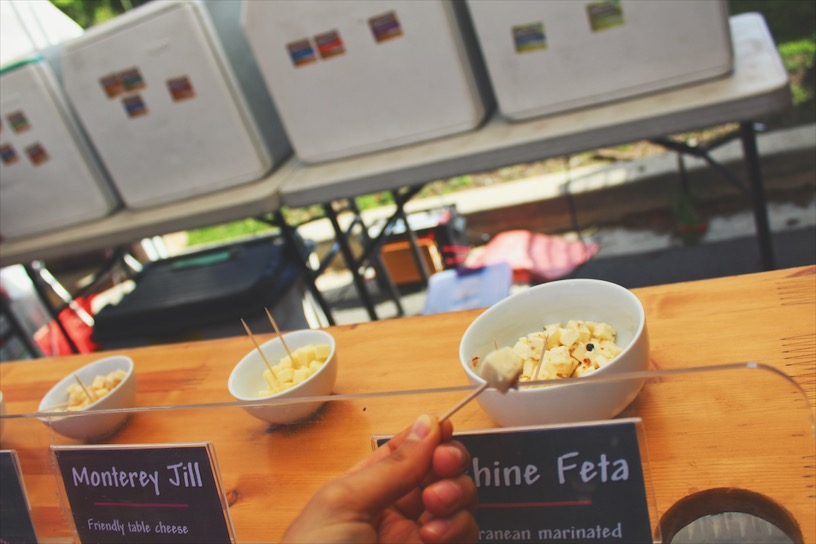 Their feta cheese is delicious!  جبنة الفيتا كانت زاكية.