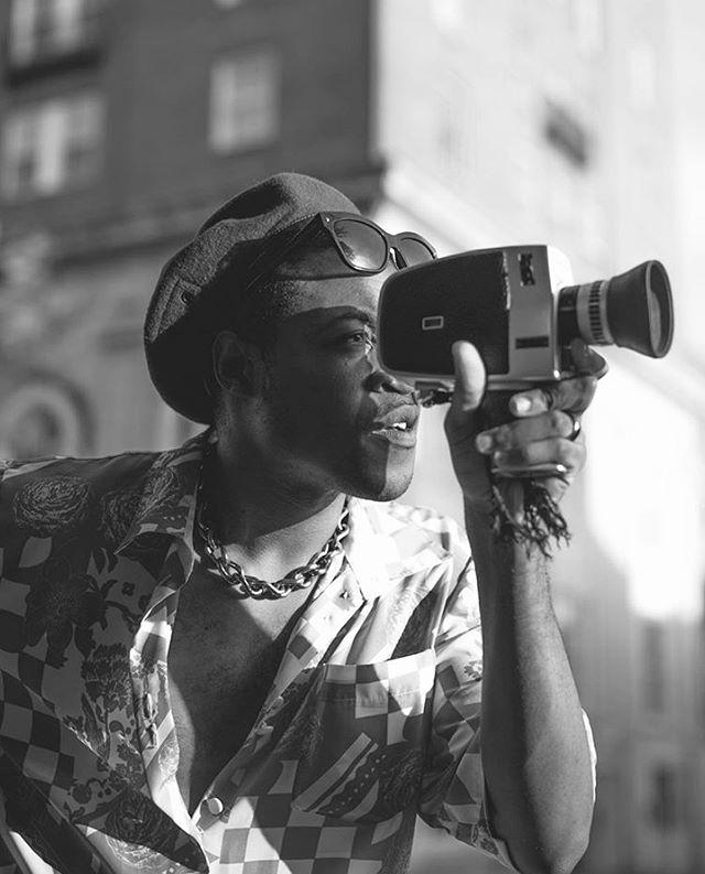 Founder, Filmmaker, Fashion Icon : @vincent.martell 📸 @mercedes_zapata // @vamstudioofficial . . . #portrait #photography #filmmaker #film #fashion #queer #poc #queerartist #pocartist #fashion #publicrelations #pr #coakleypr