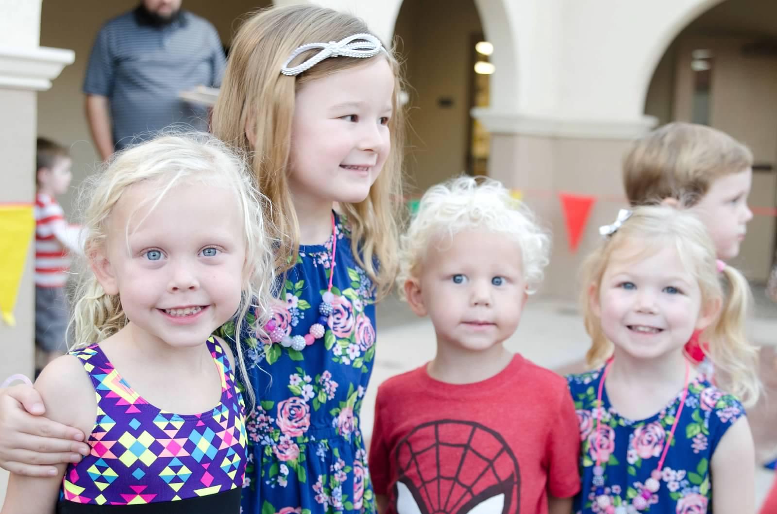 Loving Preschool, smiling kids