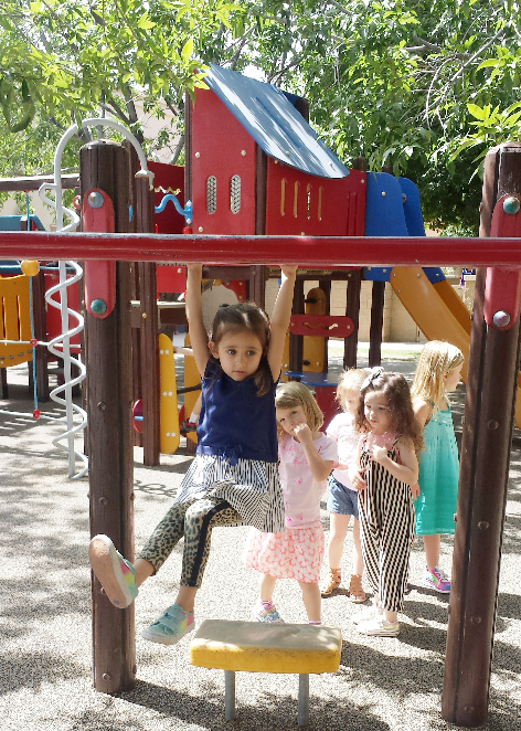 Large, Shaded Playgrounds on Campus
