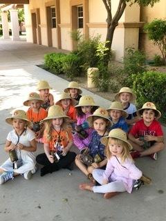 Preschool Safari Hunt at La Casa