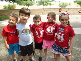 Spirit Shirts at La Casa Preschool Scottsdale