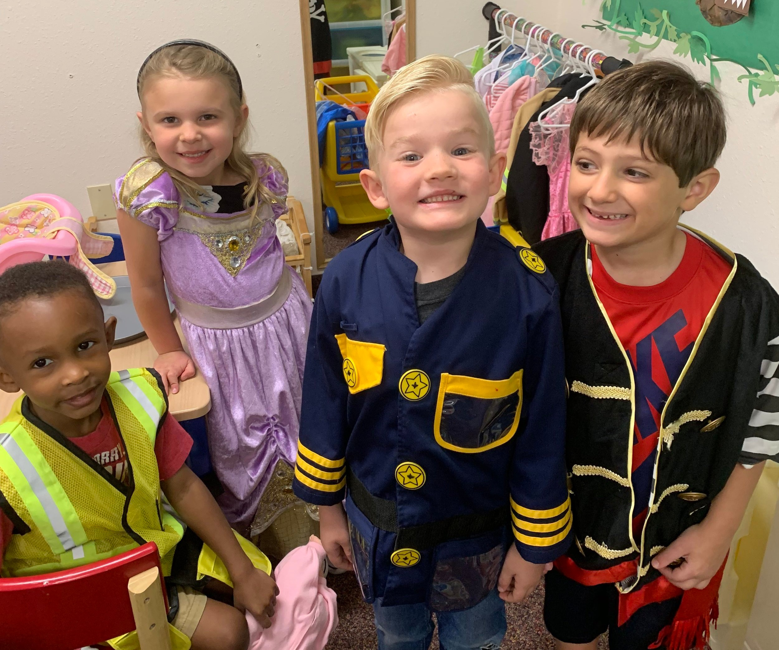 Preschool Dress Up Play