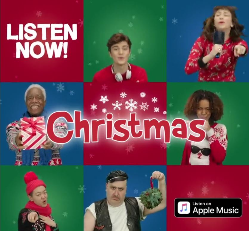Sony Music Holiday Ad
