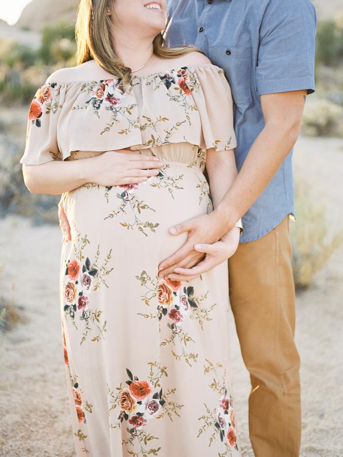 Fine Art Maternity | Joshua Tree Maternity Session | Maternity Inspiration | Joshu Tree Photographer | Fuji 400h | Pentax 645Nii | Richard Photo Lab | Alexis Ralston Photography001.jpg