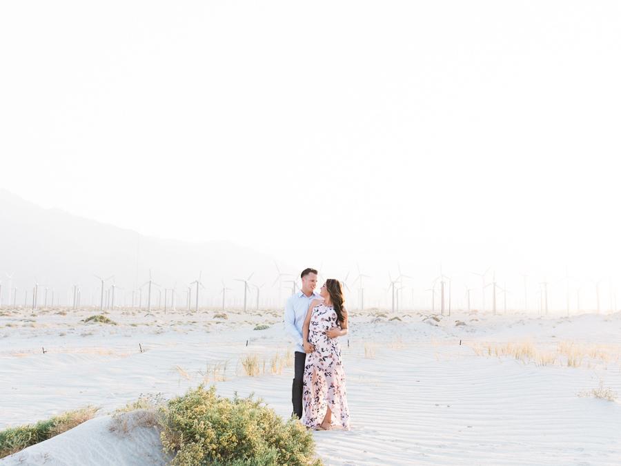 Alexis Ralston | Desert Engagement Session | Windfarm Session | Intimate Desert Inspiration | Palm Springs Engagement | Wedding Inspiration | What to Wear 042.jpg