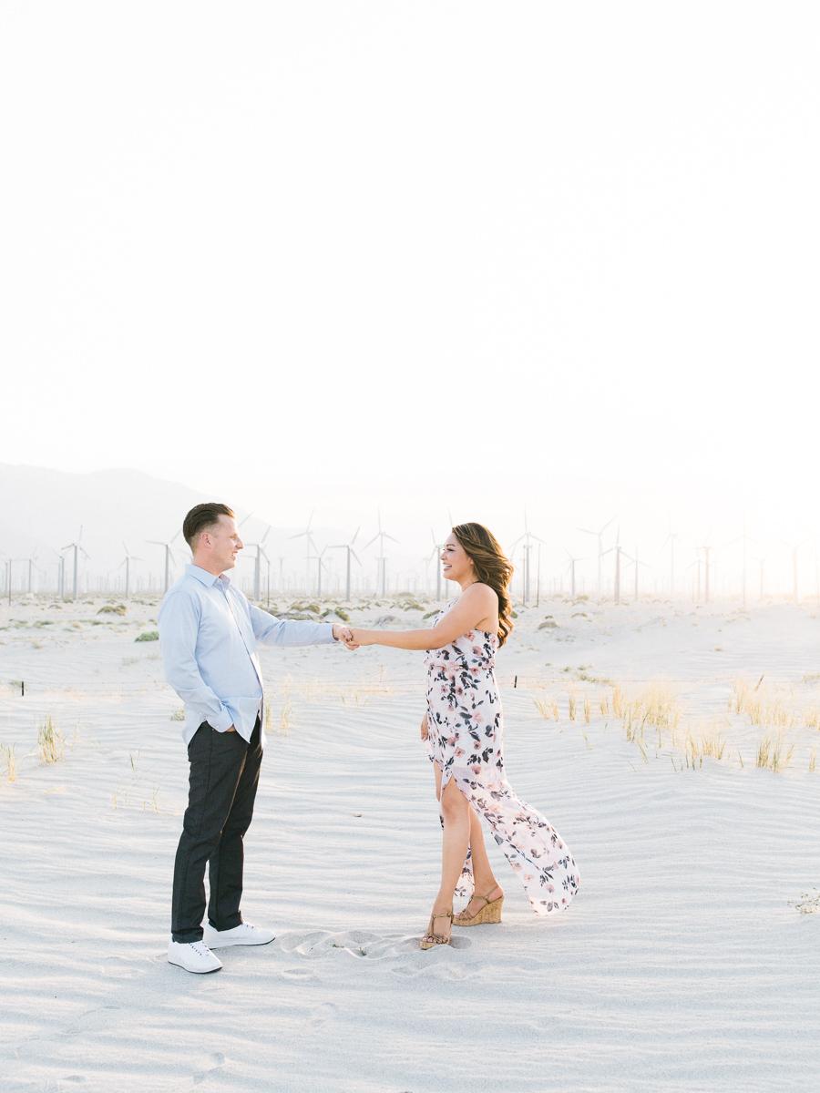 Alexis Ralston | Desert Engagement Session | Windfarm Session | Intimate Desert Inspiration | Palm Springs Engagement | Wedding Inspiration | What to Wear 044.jpg