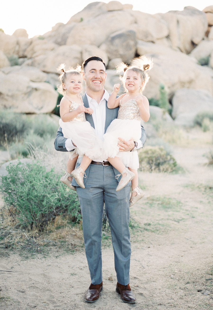 Alexis Ralston Photography | Joshua Tree Family Photographer | Vici Dolls Dress | Family Portraits | What to Wear | Film Photographer | Contax 645 | Palm Springs Family Photographer | Daddy Daughter Session 002.jpg
