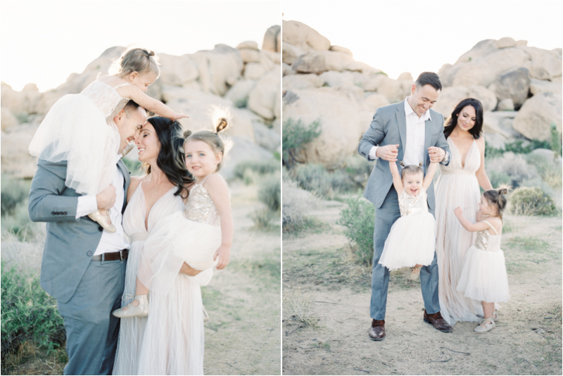 Alexis Ralston Photography | Family of 4 Posing Ideas | Desert Family Portrait Inspiration .jpg