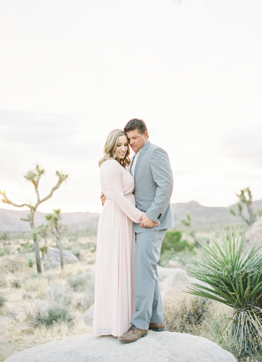 Alexis Ralston Photography | Pink Dress | Light Grey Suit | Joshua Tree National Park Session | Engaged | Anniversary Session 001.jpg
