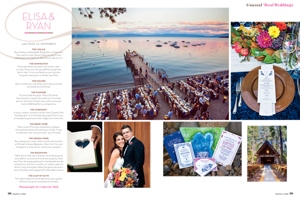 One Fine Day Events featured in Coastal Living Magazine