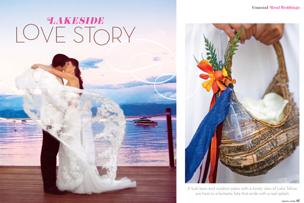Lakefront Wedding with One Fine Day Events