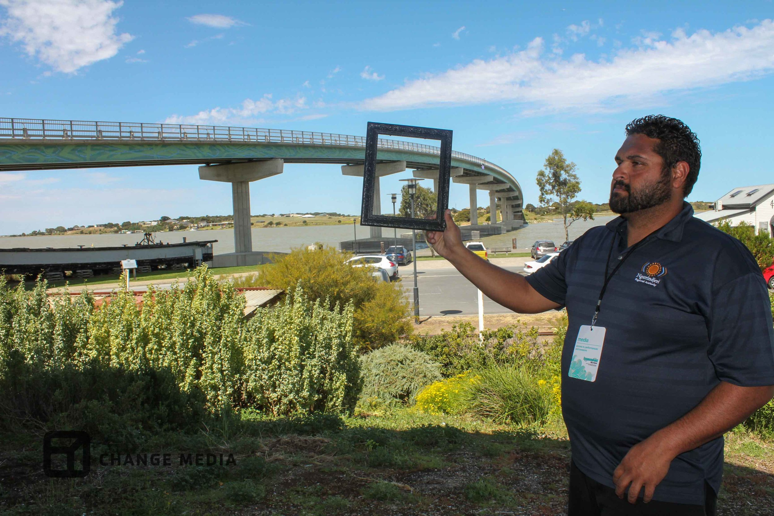 Laurie Jnr reframes Hindmarsh Island bridge