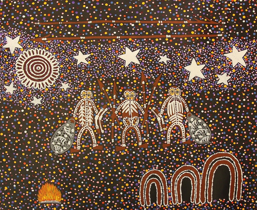 Nurunderi and his Brothers in the Milky Way