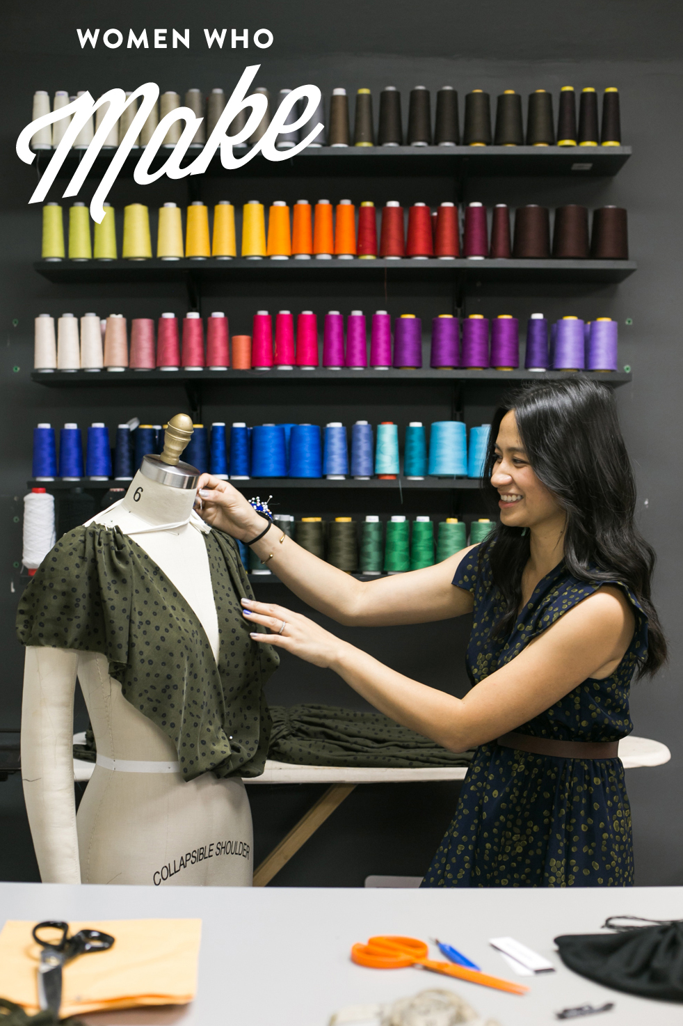 Sophia David - I am the owner and designer of a contemporary womenswear line, Sophia Reyes. The line is made in small batches in limited edition prints in Chicago.