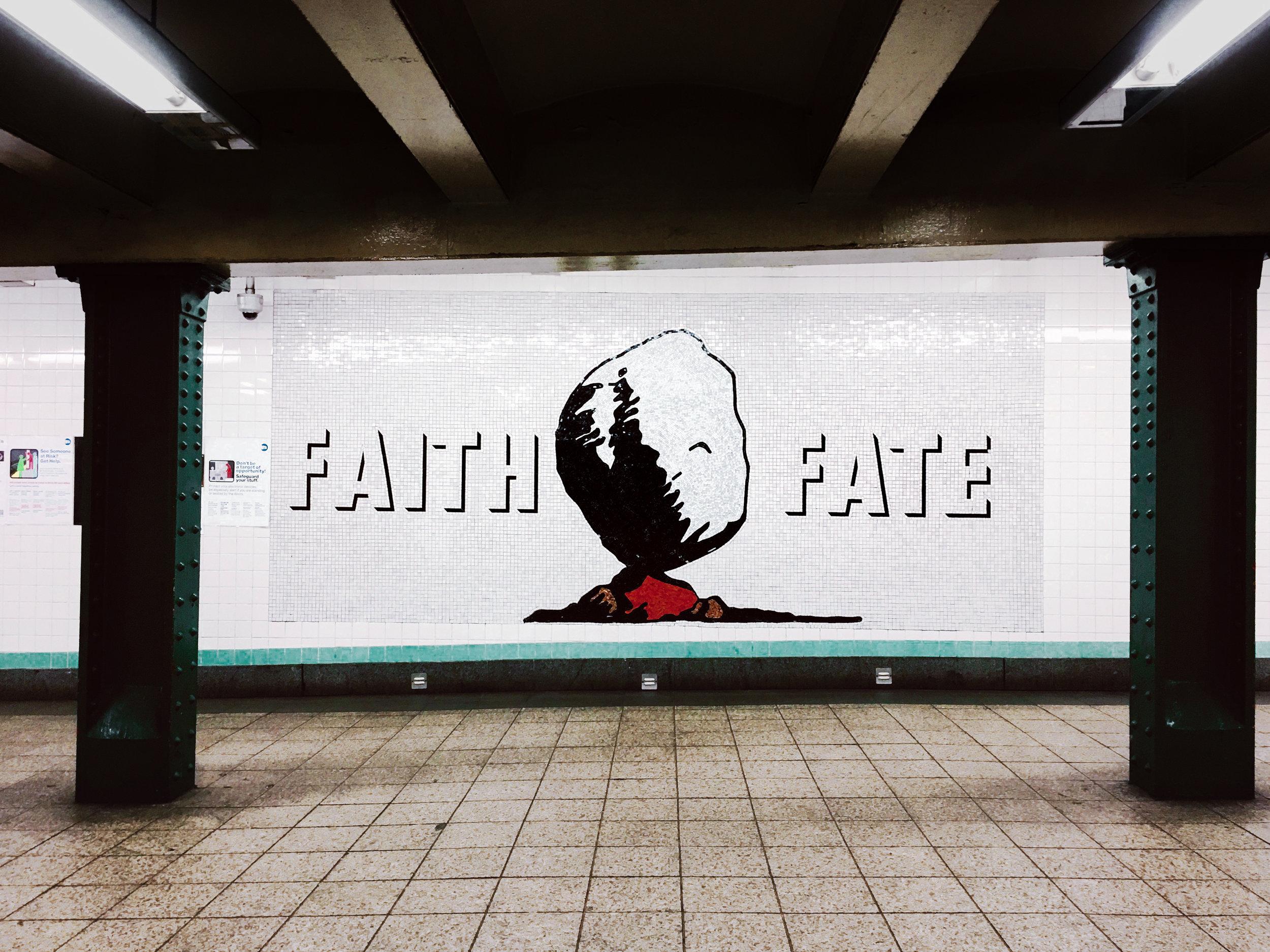 Jackie Chang | Subway tile Art | Faith Fate | NYC