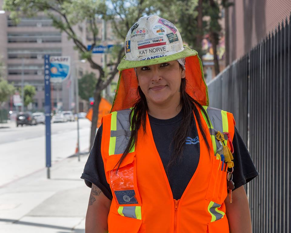 Katherine Norve, WINTER Graduate - She is building a life for her and her family, while building Los Angeles!