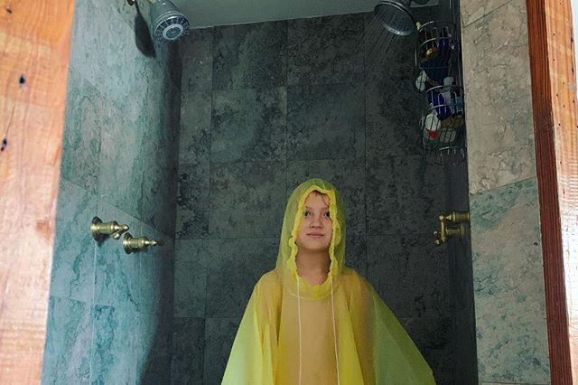 Eartha's shower technique 🏆
