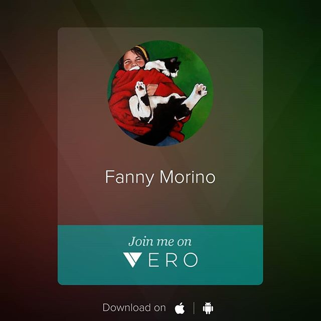 Apparently every artist I follow is switching to #Vero... Let's see what the fuss is about.