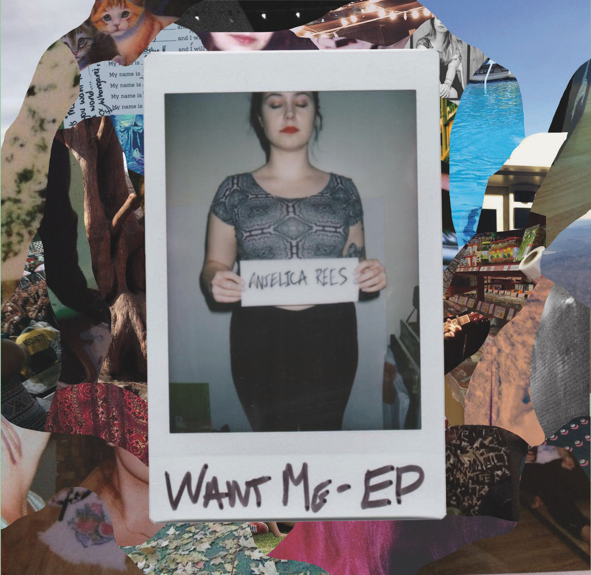 Want Me (EP) - Anjelica Rees - Drums on track 5