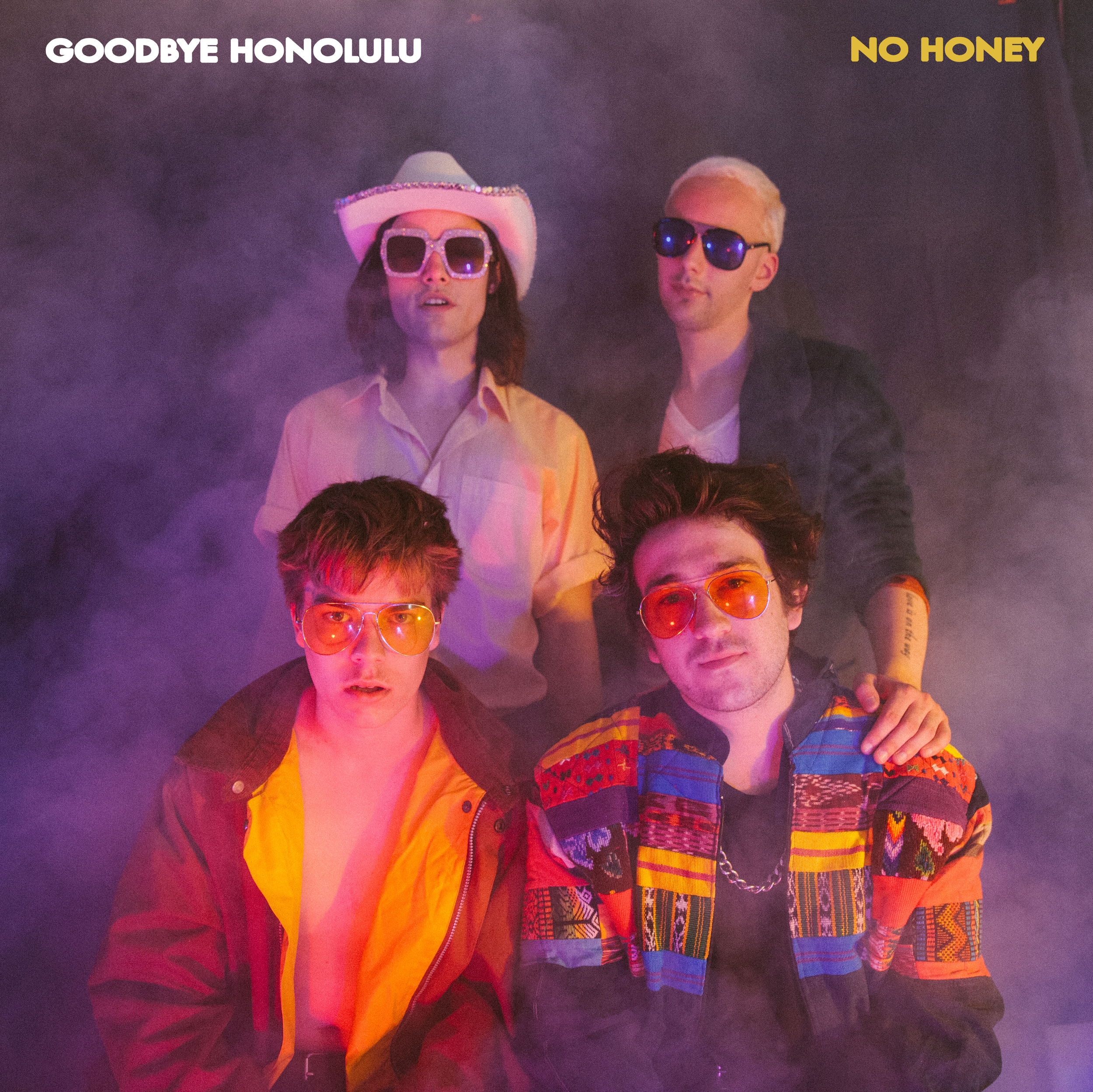 No Honey (EP) - Goodbye Honolulu - Contributing Songwriter, Drums, Percussion, Background Vocals