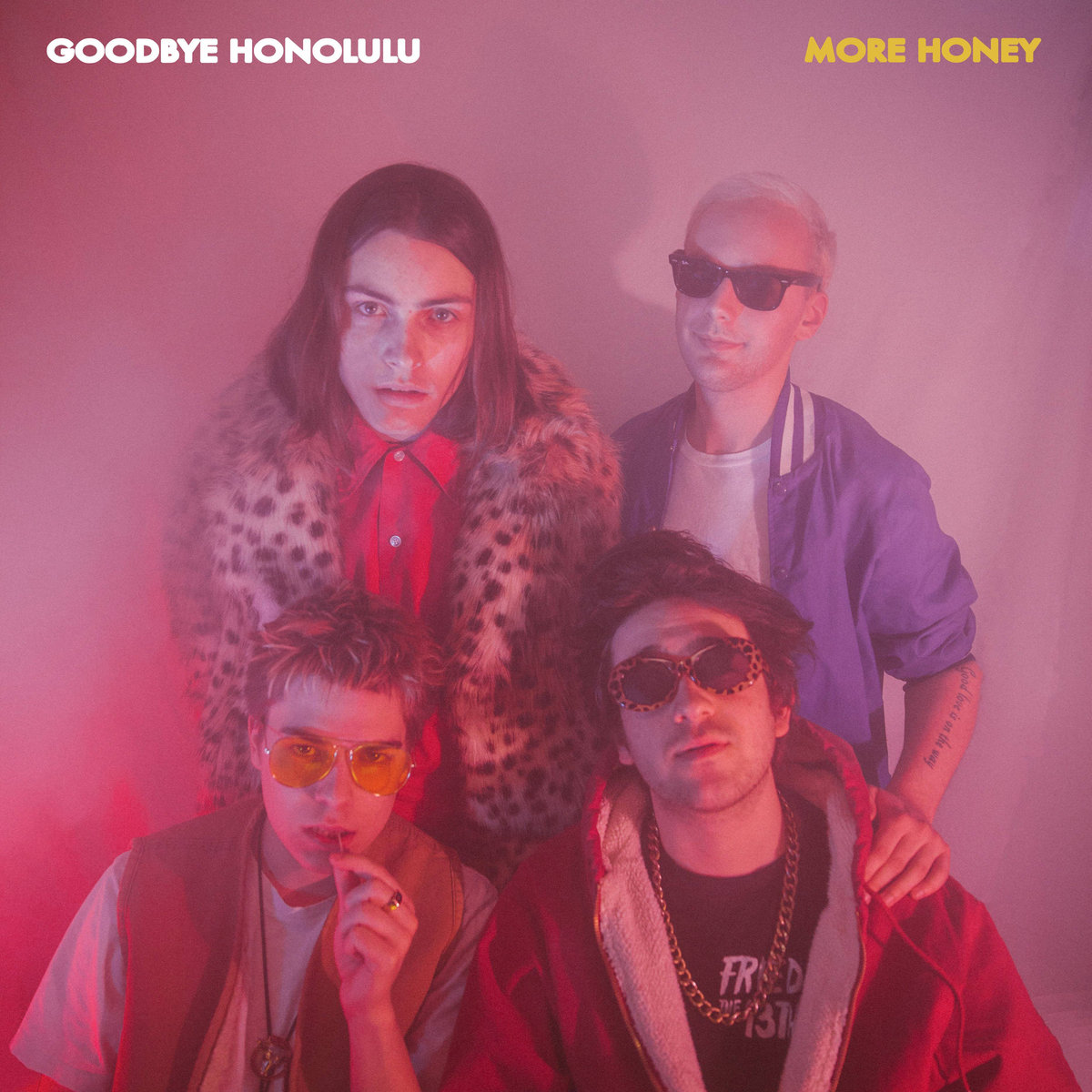 More Honey (EP) - Goodbye Honolulu - Contributing Songwriter, Drums on tracks 1-6, Background Vocals on tracks 1, 3-6, Tambourine on track 1 & 3, Cowbell on track 4