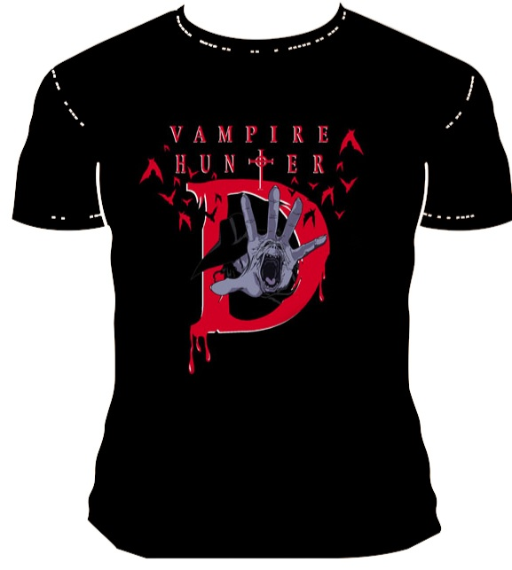 Adobe Illustrator - Vampire Hunter D T-Shirt