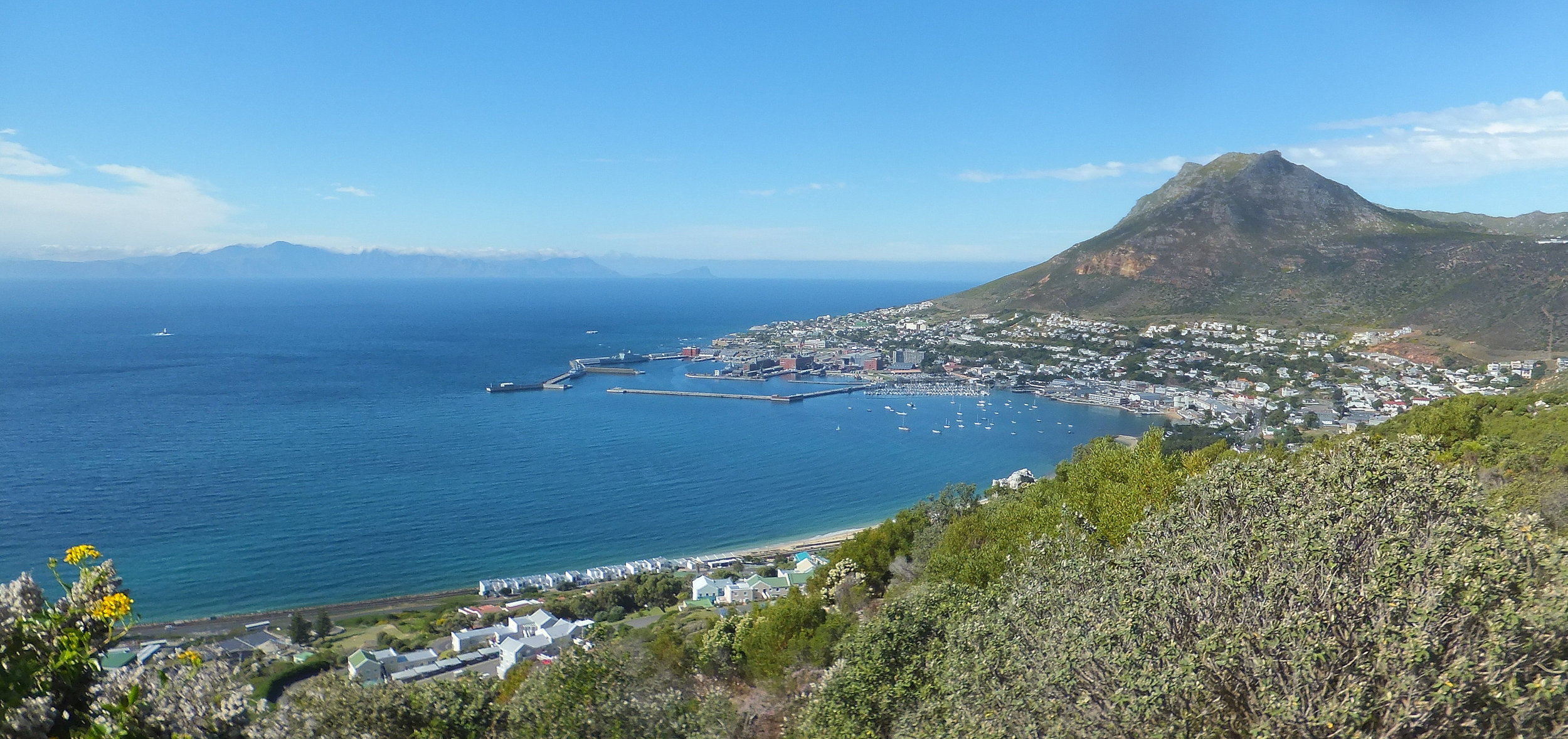 Simonstown: water, water everywhere, but...