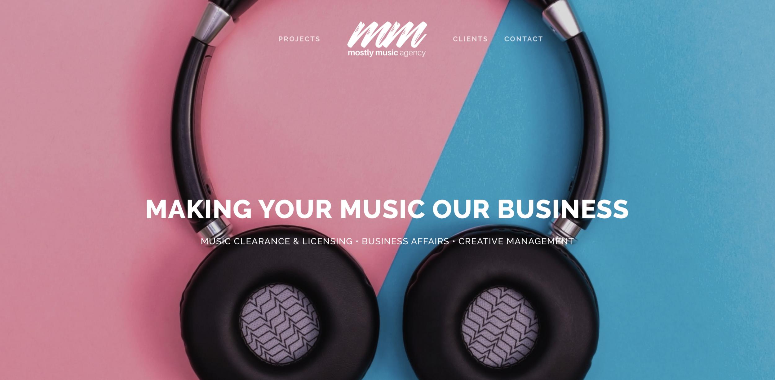 mostlymusicagency.com