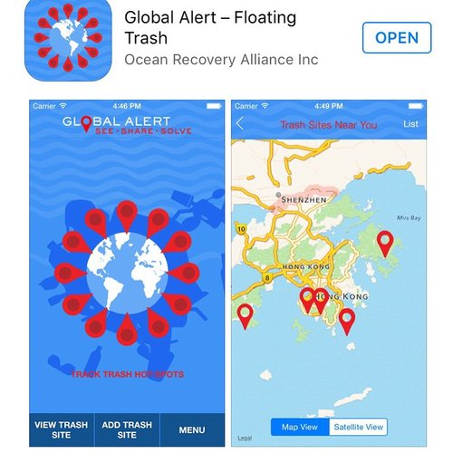 The Global Alert app is cleaning our waterways — Exicon on global search, global security issues, global coffee, global aid, global light, global pandemonium, global success, global information, global audit,