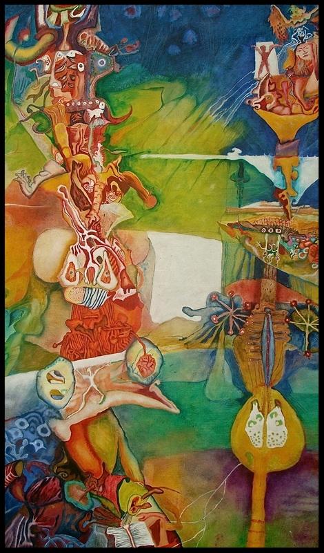 'The Awakening', 2010 Medium: Oil on canvas Size: 130 x 250 cm Location: Collection,Giulia Trecenti Tillack, Melbourne, Australia