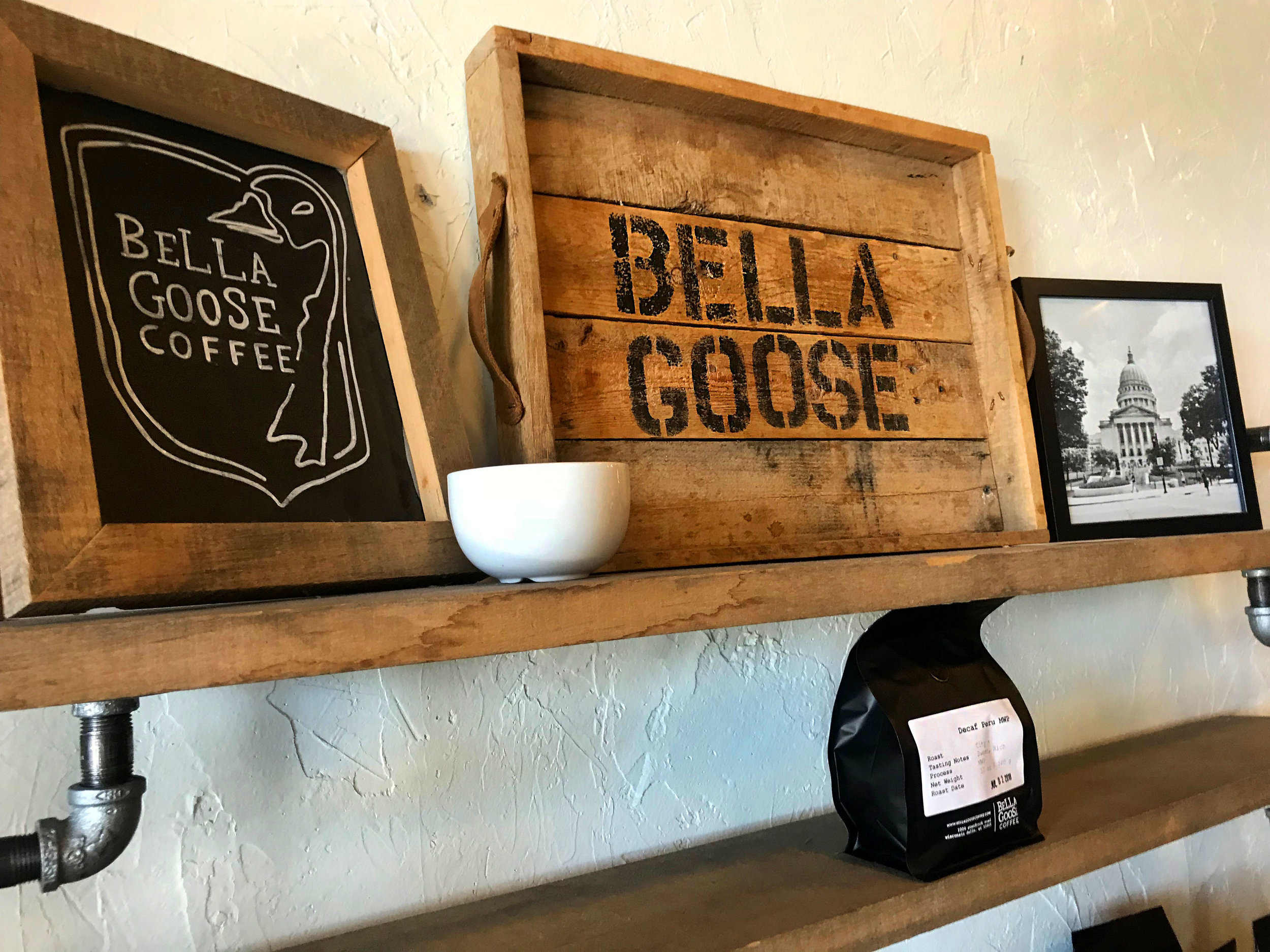 BELLA GOOSE - COFEE CHANGING LIVES