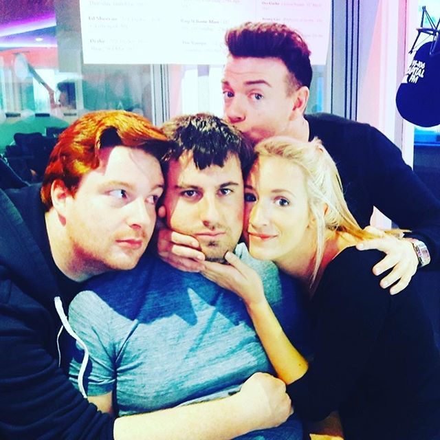 Its the last @capitalscotland breakfast show today.  I'm going to miss these guys so much. They've made me laugh at times when I didn't think I could. It's been a joy to work on the show over the years and I can't thank them enough x #Radio