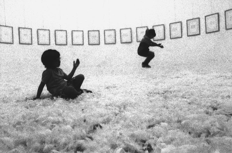 Icaro, 1994, mostra al Museo Il Torrione Forio, Napoli