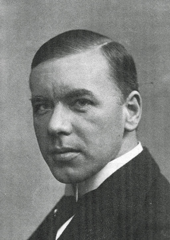 Poeten Anders Österling var Svenska PEN:s första ordförande