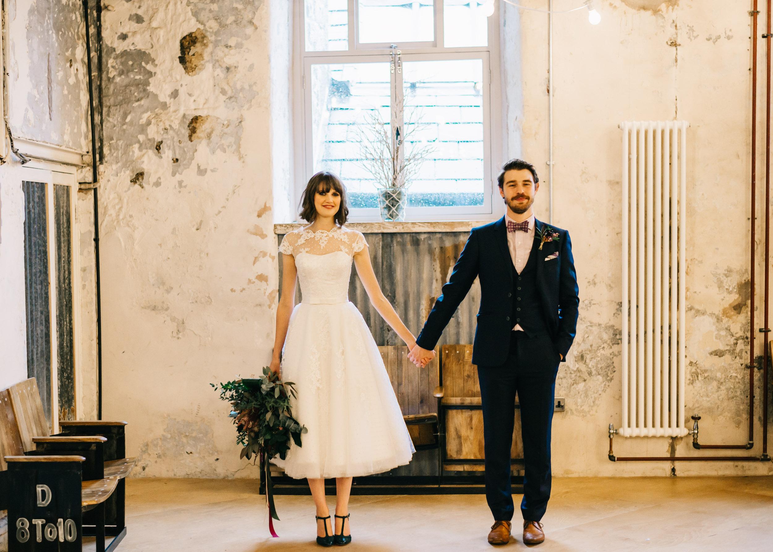 Holmes Mill Lancashire - Wedding Styled Shoot13