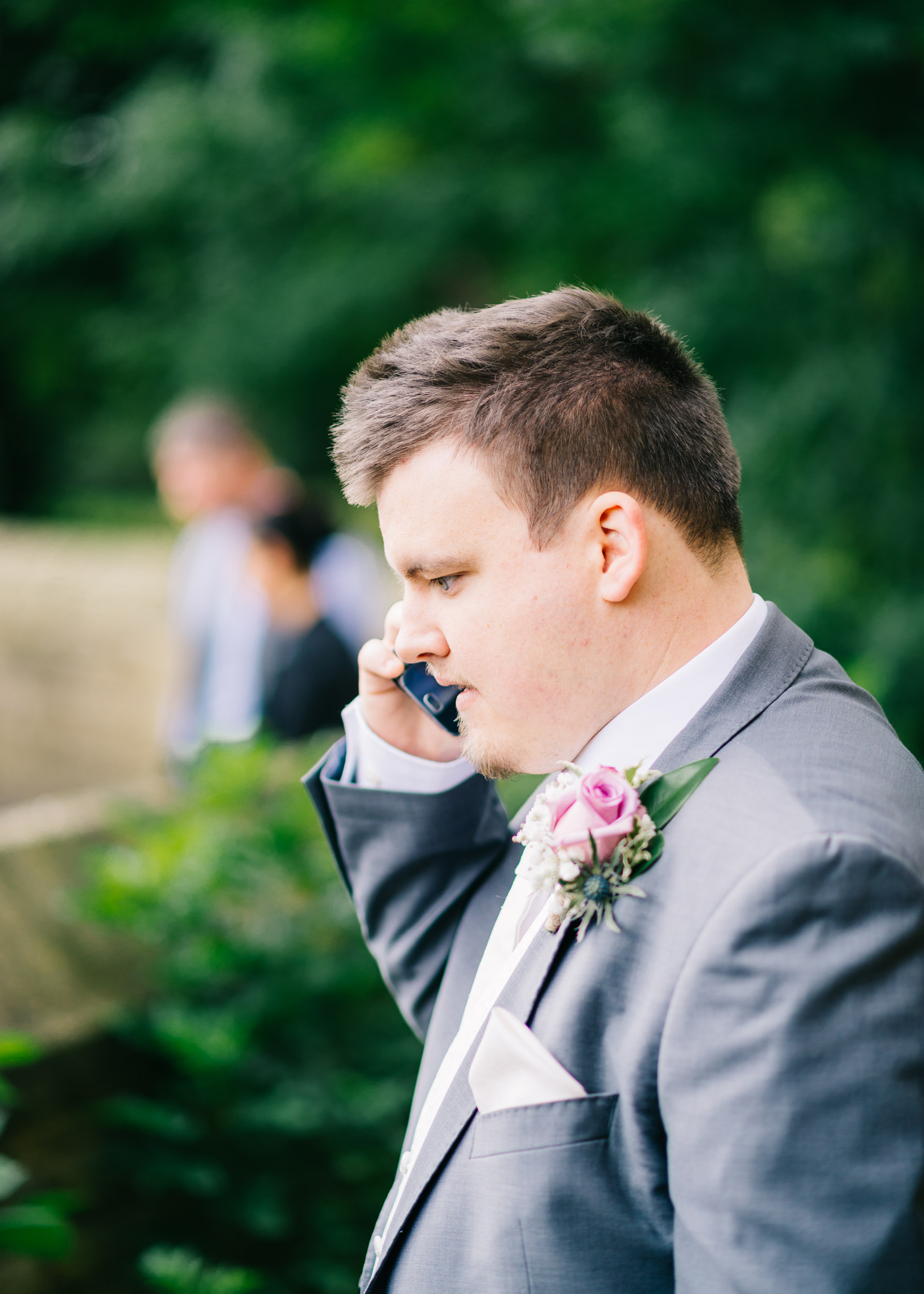 Wild flower & woodland theme wedding in manchester