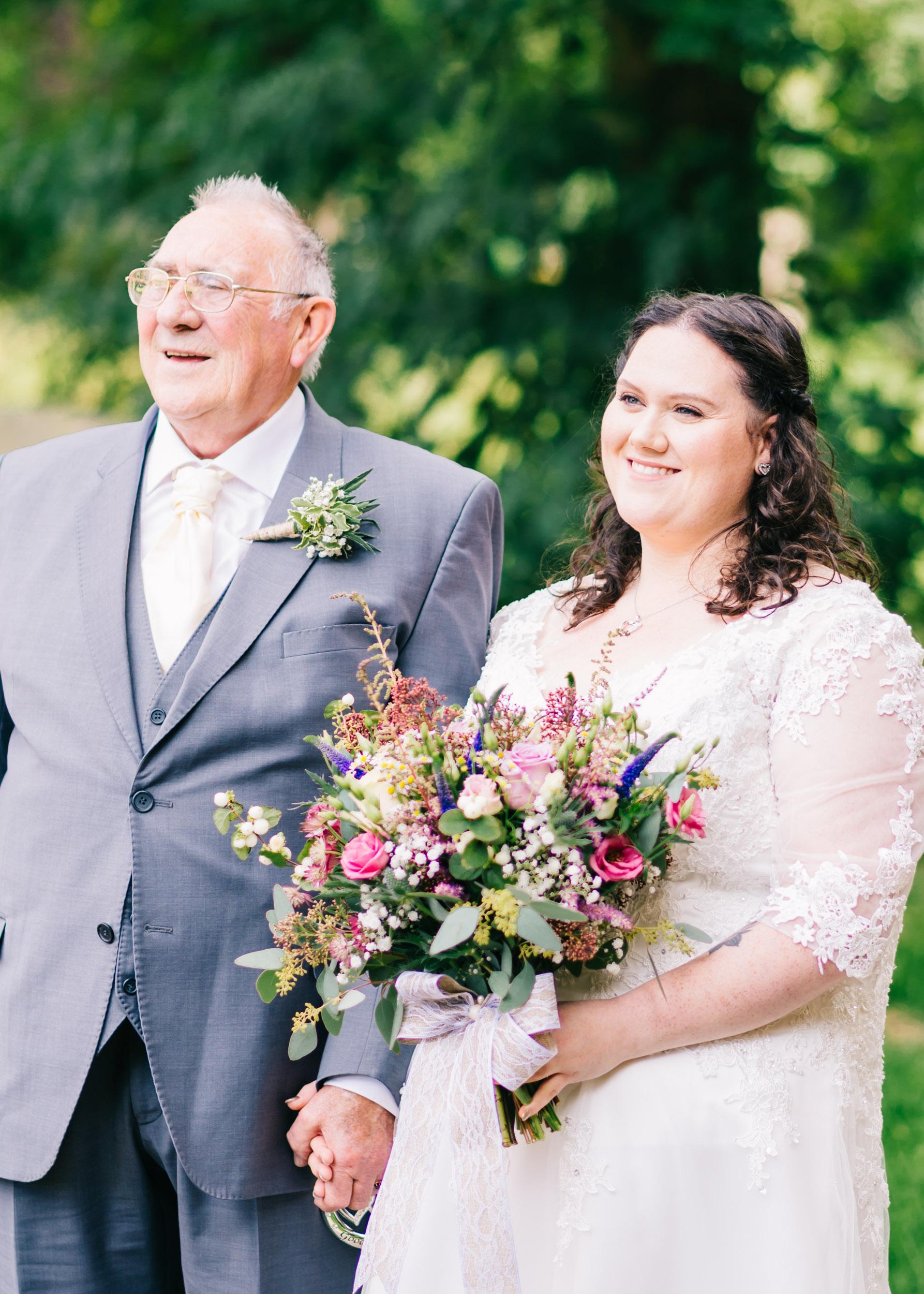 Wild flower & woodland theme wedding in manchester11