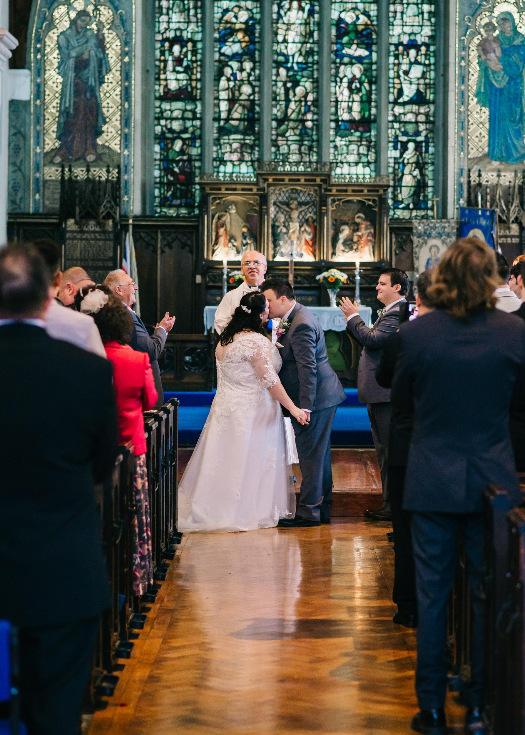 Wild flower & woodland theme wedding in manchester14
