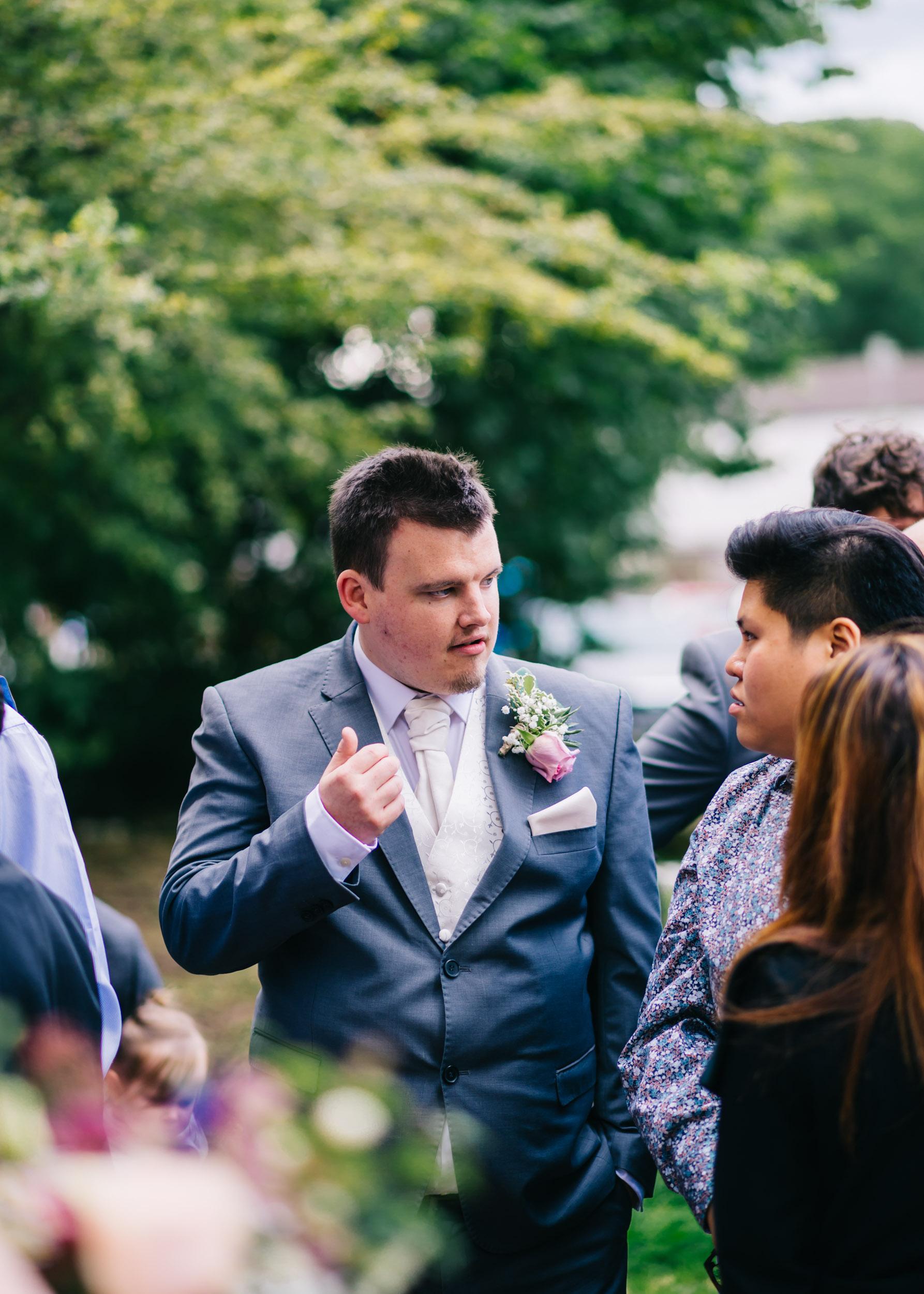 Wild flower & woodland theme wedding in manchester16