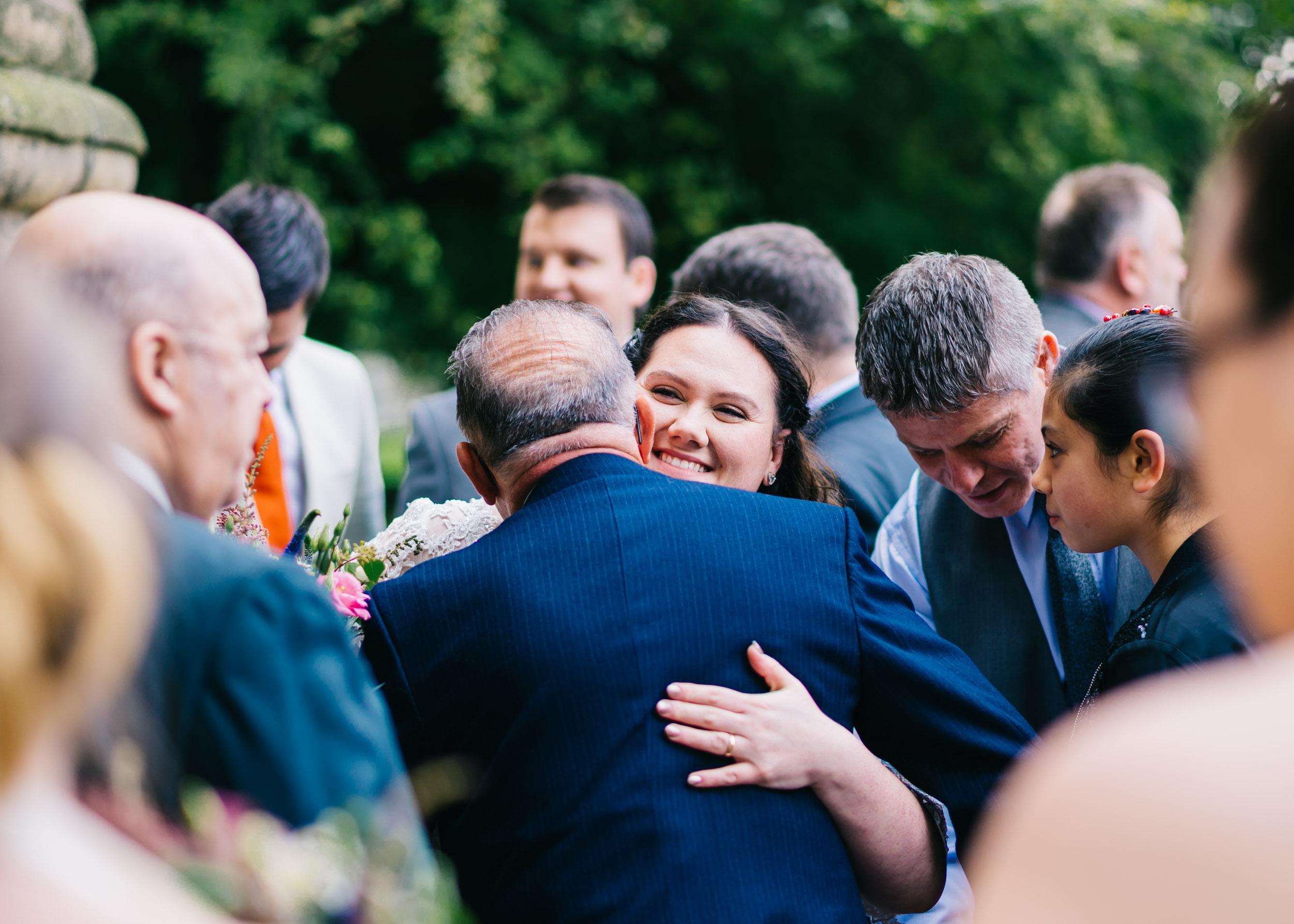 Wild flower & woodland theme wedding in manchester17