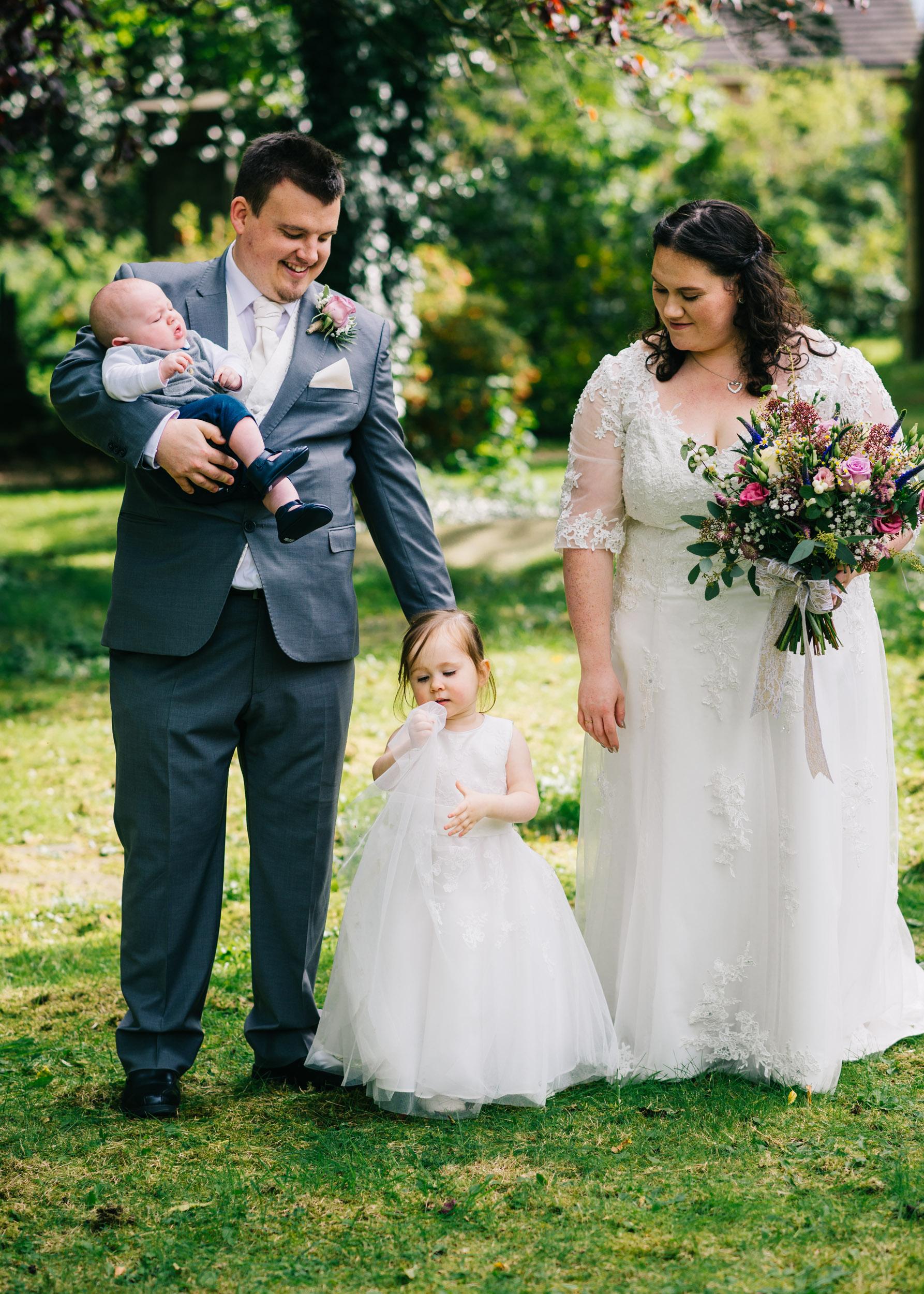 Wild flower & woodland theme wedding in manchester21