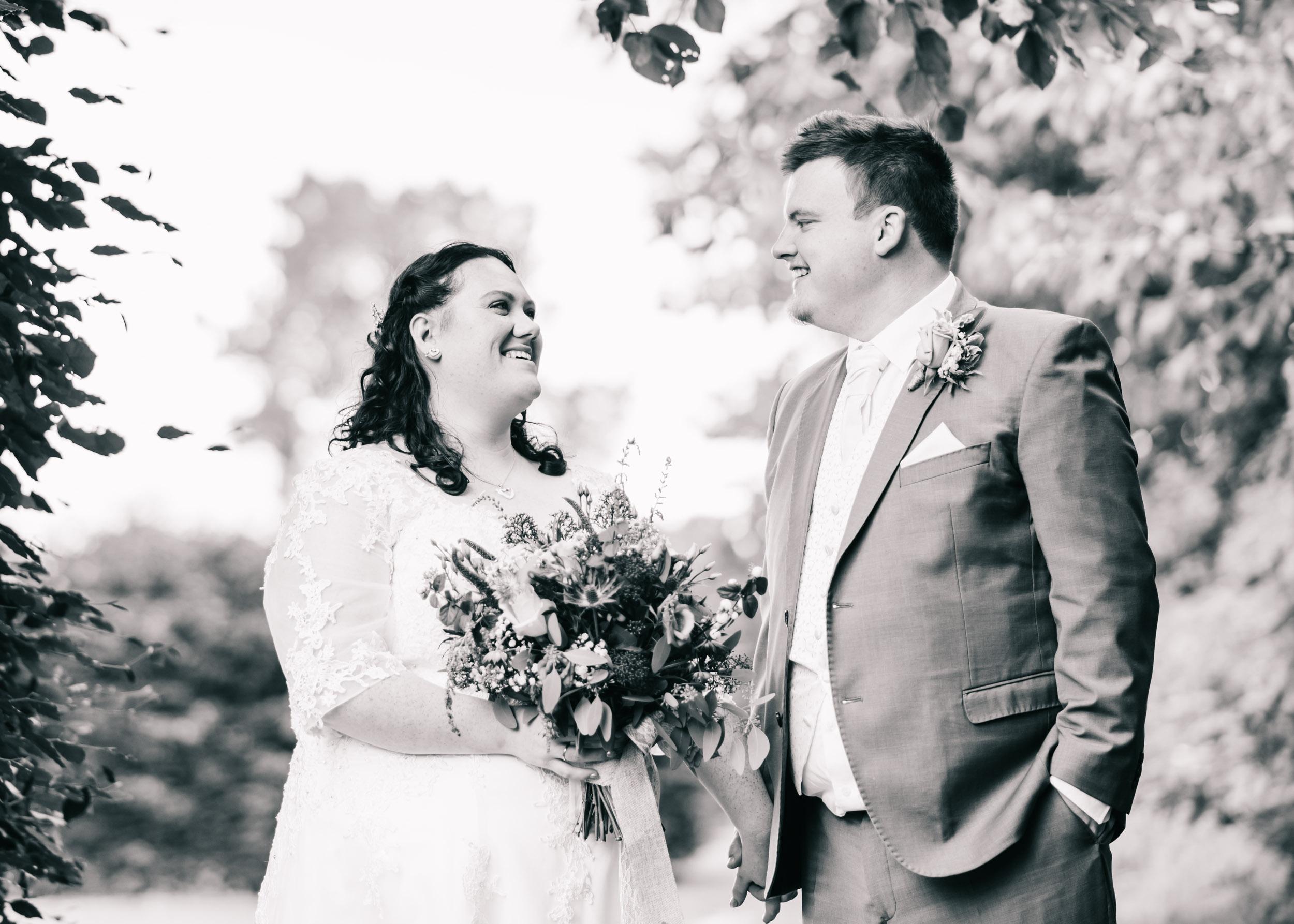 Wild flower & woodland theme wedding in manchester24