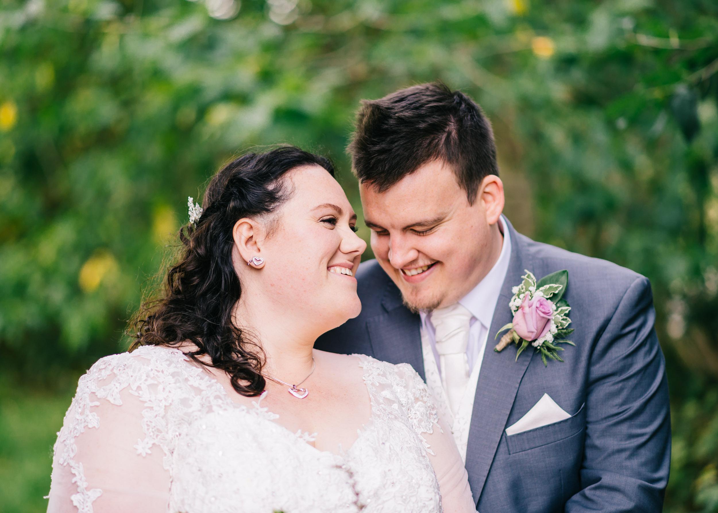 Wild flower & woodland theme wedding in manchester25